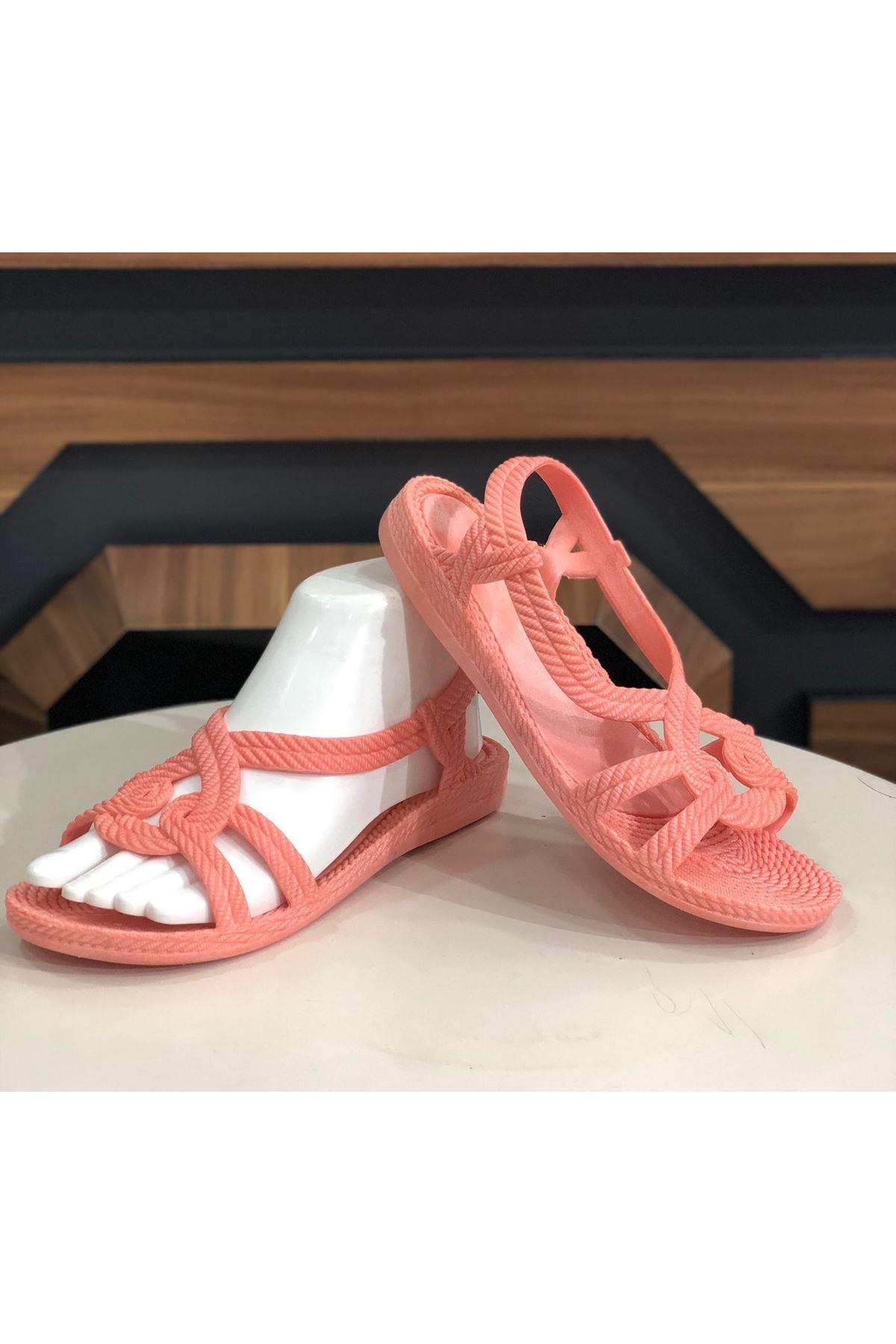 Sandalet Ayakkabı - Pudra