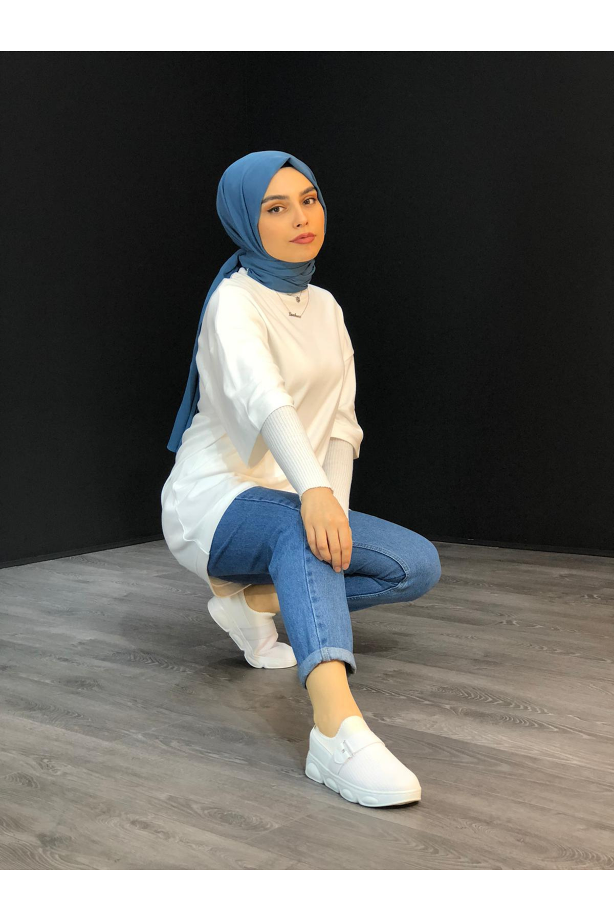 BASİC FİT TİŞÖRT- BEYAZ