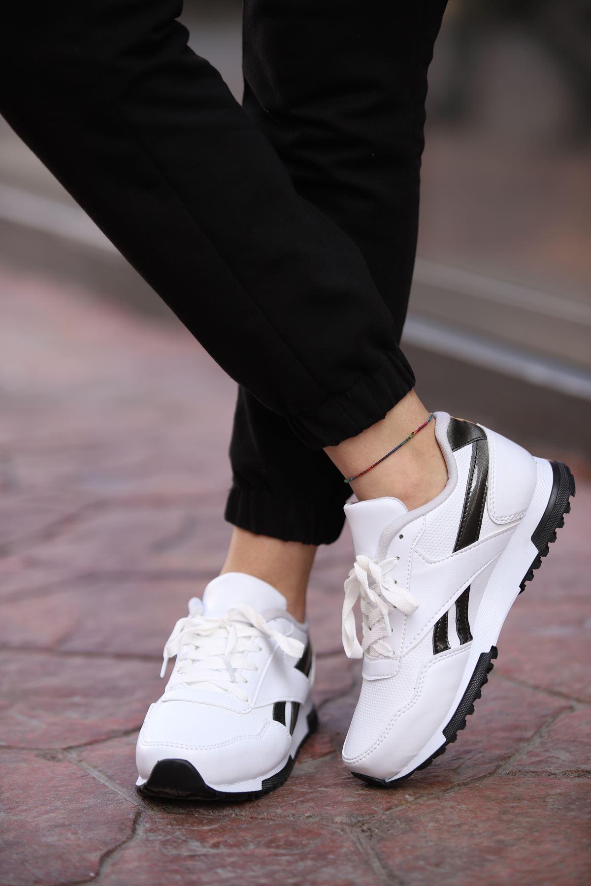 Platin Spor Ayakkabı - Beyaz